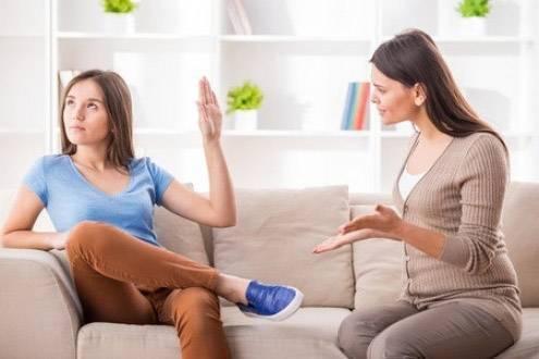 discussione con gli adolescenti