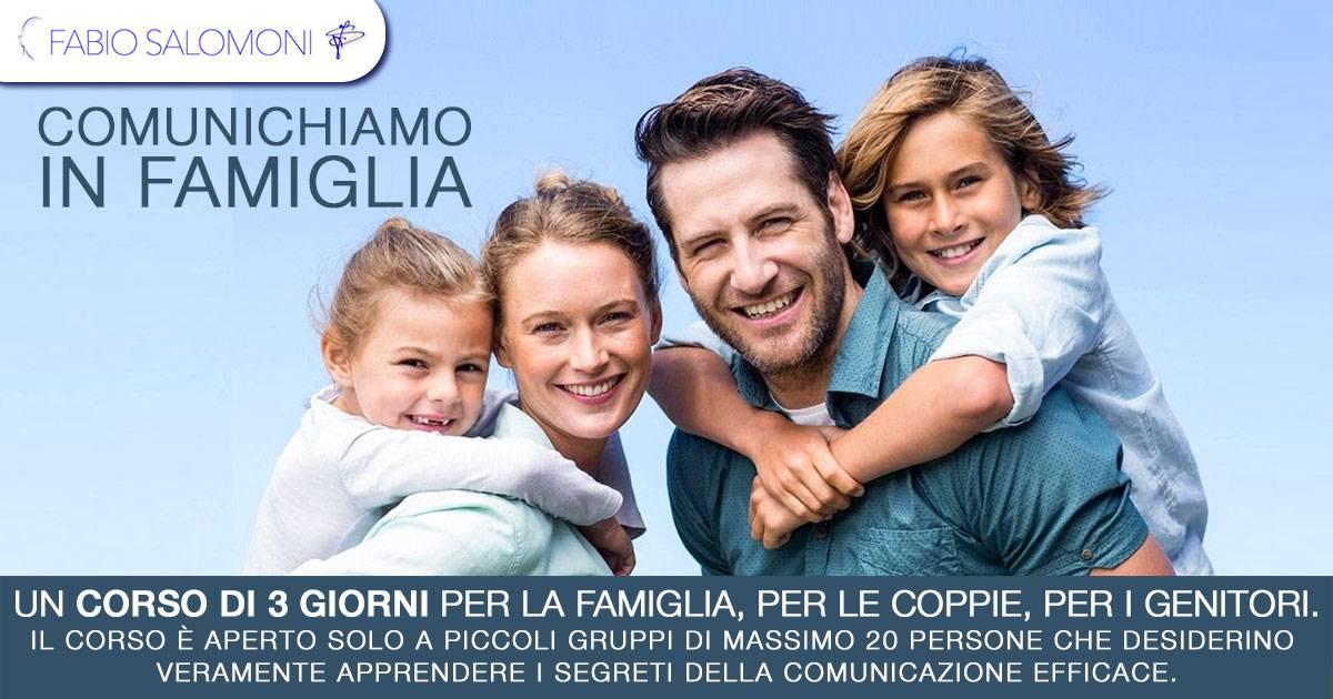 COMUNICHIAMO IN FAMIGLIA - Fabio Salomoni