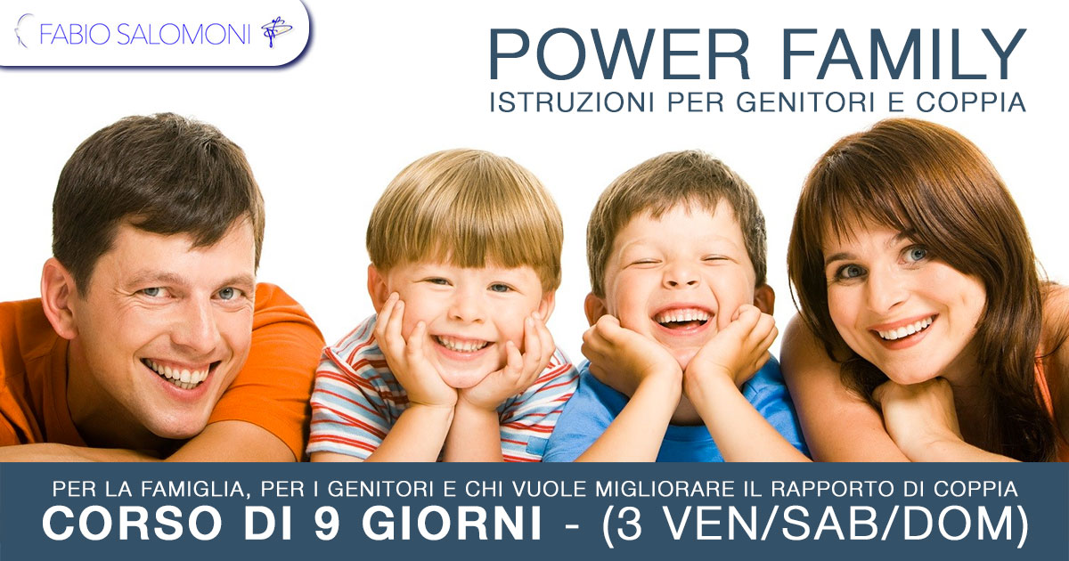 POWER FAMILY - Fabio Salomoni