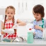figli e faccende domestiche