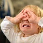i bambini che fanno i capricci