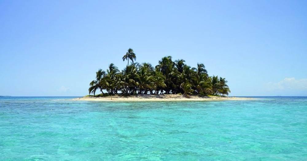 Lascio tutto e scappo su un'isola deserta!